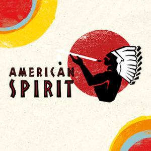 Das Logo von American Spirit